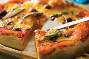 Pizza com Biqueirão