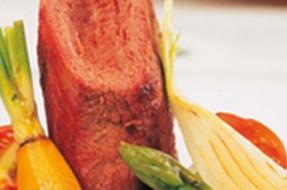 Lombo_veado_verduras_caramelizadas_vinho_tinto