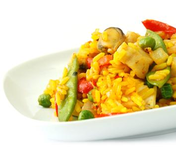 Paella-de-legumes