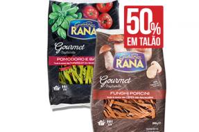 Tagliatelle-Giovanni-Rana,-tomate&manjericão-ou-cogumelos